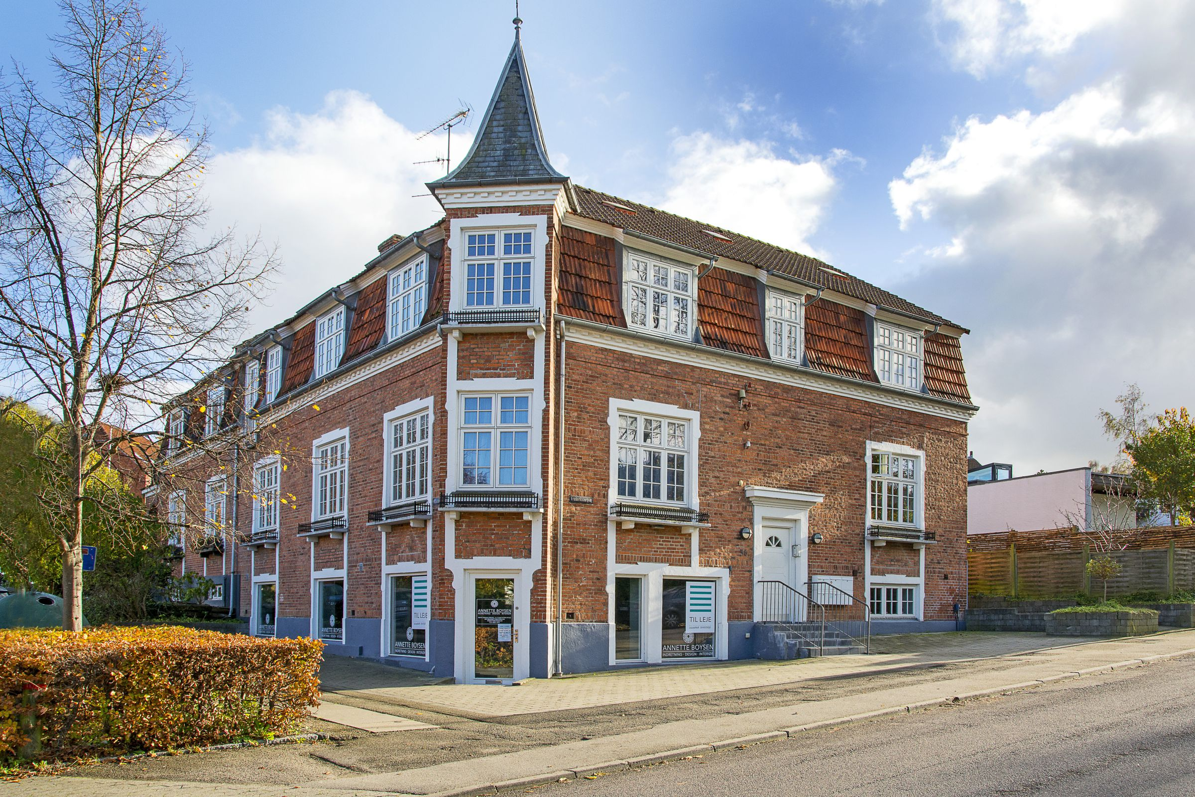 Kontorhotel centralt i Roskilde